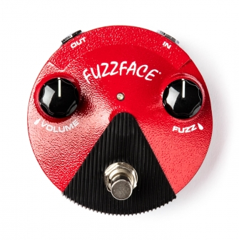 DUNLOP FFM2 GERMANIUM FUZZ FACE MINI RED