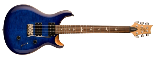 PRS SE Custom 24, Faded Blue Burst