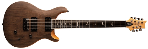 PRS SE Holcomb SVN Satin Walnut 7-string