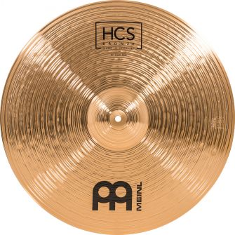 "MEINL HCS BRONZE 20"" CRASH RIDE"